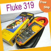 162.4*58.25*30.5 0.384kg  EMS free shipping Fluke 319 True RMS Clamp Meter,High Accuracy