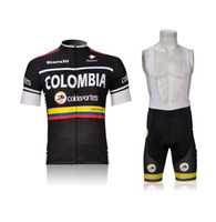 Wholesale HOT NEW GLBY Team Sleeve Cycling Jerseys Set Cycling Wear Clothing BIB Shorts