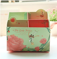 Wholesale The little Prince DIY clean up box Storage DIY table desttop box