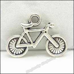 Wholesale Tibetan fashion Bicycle charm pendant Antique Silver zinc alloy Fitting Fit DIY Making