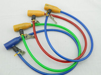 Wholesale Bicycle Bike Steel Wire Security Cable Lock Keys Vinyl Coating Multicolor
