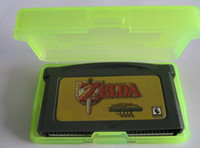 Wholesale legend of Zelda A Link to the Past amp Four Swords game card Game console save file via DHL