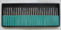 30 pcs   1 box 30pcs Set of millers for tooth technician Low Speed drill Dental New Free Shipping