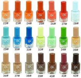 Wholesale 42color nail polish matte nail polish ml personalized nail supplies