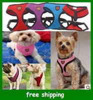 Wholesale Hot My pet quot Brand Red colour of Fashion pet Harness dog vest Cat colors sizes