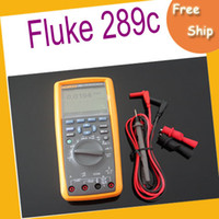 Cheap EMS free shipping Fluke 289C True-RMS AC DC Clamp Meter with iFlex