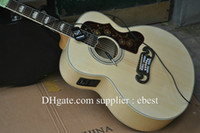 Wholesale Pete Townshend acoustic Dreadnought guitar Back Side Tiger Maple with Fishman Pickups