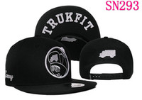 Wholesale TRUKFIT Cool snapback hat snap back hats snapbacks Cartoon cap Outdoor Sports Caps black color