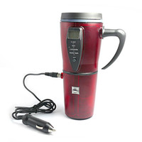 Wholesale Car Intelligent Eletric Cup Red office Keep your coffee tea or hot chocolate warm