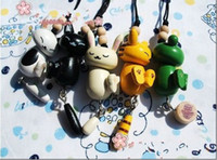 Wholesale Black Cat Pendant Wooden Pendant cartoon characters pendant