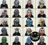 Wholesale Halloween Mask Scary Halloween Mask Cheap Costume Mask Mix Order Horror Masks Discount Hot Sale Pop