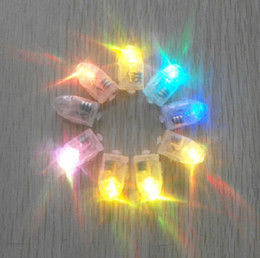 Multi color Helium balloon LED lamp beads for flashing balloon 50PCS