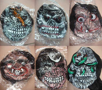 Wholesale Halloween Mask Scary Halloween Mask Costume Masks Cool Party Props Horror Masks Discount for Sale