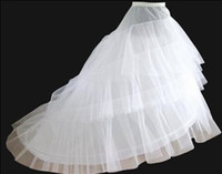 new white Wedding Gown Train Petticoat Crinoline Underskirt ...