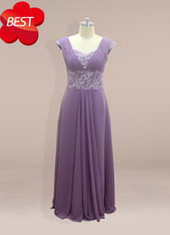 Wholesale Actual Images Cheap A line Sequins Beaded Floor Length Chiffon Plus Size Formal Evening Dresses