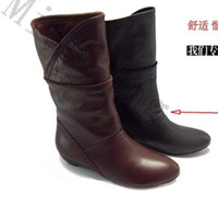Wholesale The fashion shoes New Italian sheep pattern comfortable fashion women boots M888