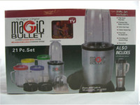 Wholesale New MAGIC BULLET DELUXE PIECE SET HI SPEED BLENDER MIXER CHOP MIX BLEND GRIND NEW
