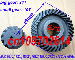 Wholesale BRAND NEW SHAFT DRIVE ATV REAR AXLE GEARS CC CC CC CC ATV PARTS COG WHEEL CARDAN