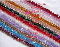 Wholesale 4 mm Faceted Roundlle Austria Crystal Bead Charms Loose Beads Supplies