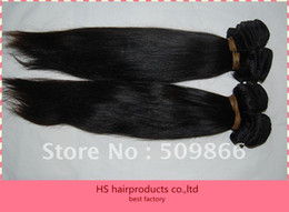 Wholesale queen hair Indian vrigin hair g natural color straight fast shipping D