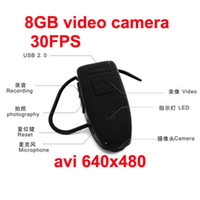 Wholesale 30FPS GB Bluetooth Spy Hidden DVR Camera avi format Audio amp Video Retail Box
