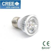 Wholesale 10X Home Garden CREE E27 X3W W dimmable LED Spotlight led lighting led bulb V