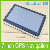 Wholesale 7 inch Car GPS Navigation Navigator MB GB MTK Win CE Multilingual Free Multi country NEW Map Free DHL