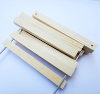 Wholesale 1 cm Wooden Bracket with Holes Pine Wood DIY Model Toys Car Chassis