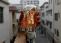 Wholesale Antique Vintage Edison light Bulb W V radiolight T64 Squirrel cage