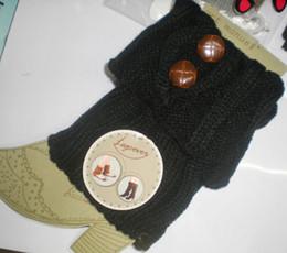 Knited leg warmers Tight LEG CORVER Sexy Socks button design 20 pairs lot #2335