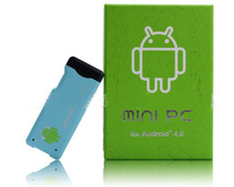 2012 Новый Android-Mini PC IPTV Dongle Allwinner A10 процессора 1 Гб оперативной памяти 4 Гб Wi-Fi TV Stick Mini PC