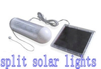 Wholesale 5LED solar indoor light split solar light corridor light bathroom light garden light LED Light
