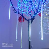 Wholesale 50cm LED christmas meteor rain tube light led running light tube tube set