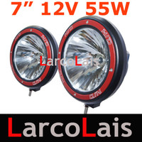Wholesale 2pcs W quot HID Xenon Offroad Vehicles Driving Spot Flood lights SUV ATV WD X4