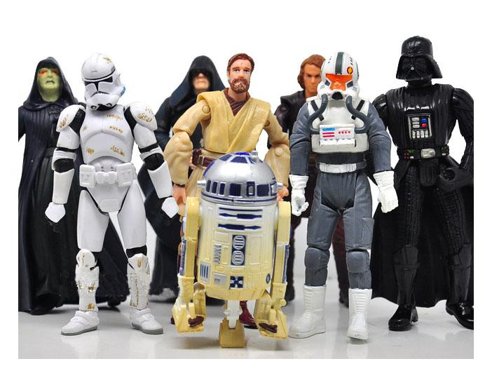 Hasbro star wars pvc figures toy 3 75 movie action figure dolls