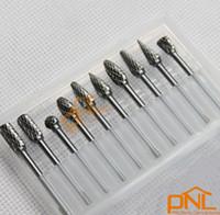 Wholesale 10 pieces box Tungsten Carbide Rotary Burr SET quot shank For Dremel