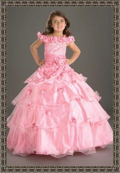 Pink princess flower girl dresses pink princess flower girl dresses 76 mightylinksfo