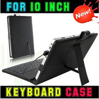 Wholesale 10 Inch USB keyboard Micro usb keyboard case for inch tablet pc MID