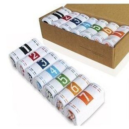Wholesale Cowhide box weekly sox creative weekly socks great gift Special offer pair A950