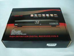 Wholesale DHL New arrival AZAmerica S900HD digital satelite receptor PVR Nagra hd tuner