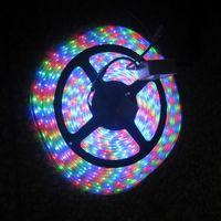 Holiday high intensity led - 1pcs V m LED SMD RGB Flexible LED Strip Light waterproof High Intensity