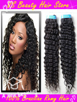 Wholesale 14 quot quot quot brazilian hair weave bundles deep wave virgin hair mixed lengths queen hair product