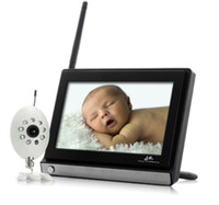 Wholesale Monitor Buddy Wireless Widescreen Inch LCD Baby Monitor with Night Vision