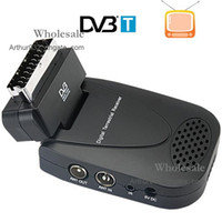 Wholesale High Recommend Scart DVB T Receiver Digital Terrestrial Receiver USB PVR with Remote Control