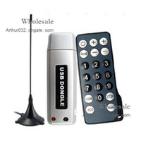 Wholesale Perfect Style DVB T USB Dongle Free Digital TV Scheduled Recordings With Remote Controller