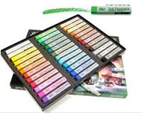 Wholesale 36 colors box Chalk Hair Color Temporary Hair Chalk Fun Fast Easy Soft Fencai Bar