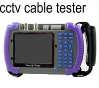 Wholesale Promotion CCTV Security Camera Tester Optical Fiber Tester controlling PTZ testing LAN cable