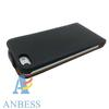 Leather Flip Case Genuine Leather Case for Apple Iphone 5 5G