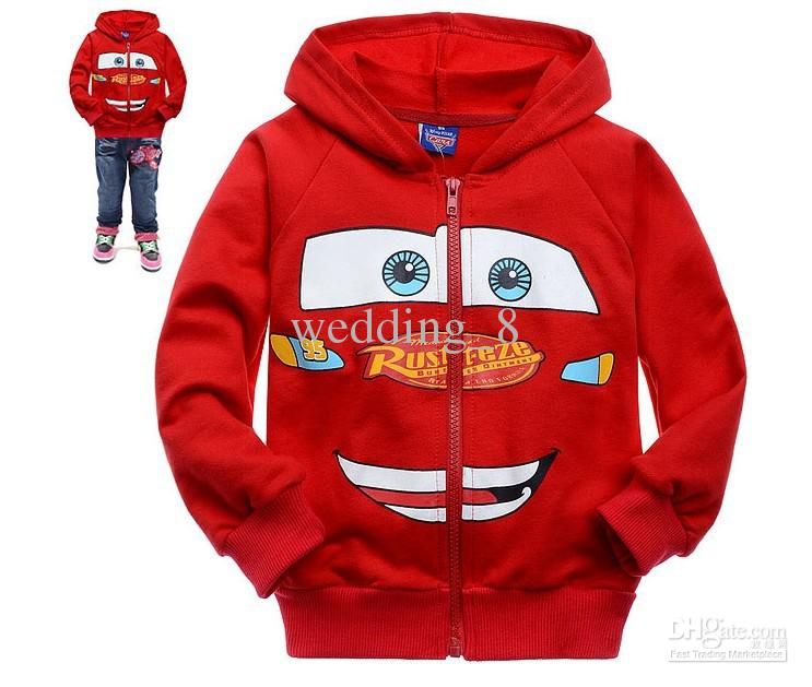 2015 Autumn Cartoon Red Car Boys Coat, Handsome Boys Jacket, Kids ...