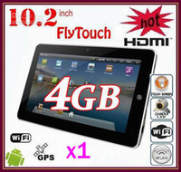 Wholesale 10 quot inch GPS Tablet pc Android G DDR3 flytouch Tablet pc HDMI RW L09